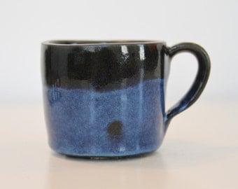 Hand thrown stoneware pottery mug