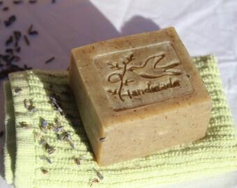 Lavender Soap, organic lavender herb soap, Olive oil soap, coconut oil soap, lavender essential oil soap