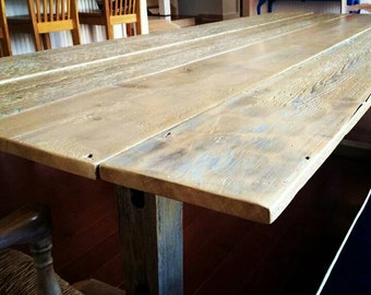 Maine Barn Board Dining table