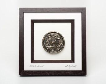 Celtic Knotwork Framed Bronze