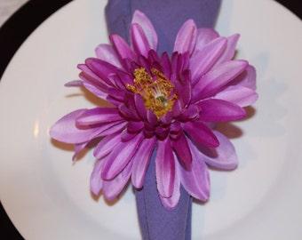 Purple Ombre Napkin Ring