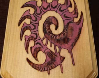 Zerg Symbol from the Starcraft series