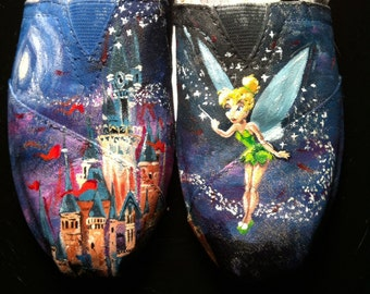 Tinkerbell and Magic Kingdom Inspired TOMS