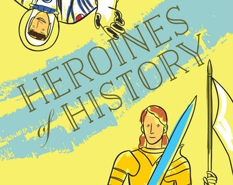 Heroines of History: A Colouring Book