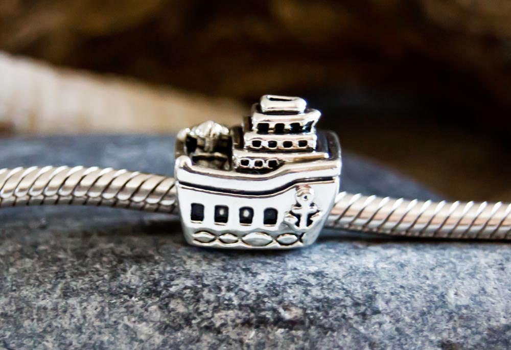 Authentic Pandora All Aboard Charm S925 Ale Sterling Silver