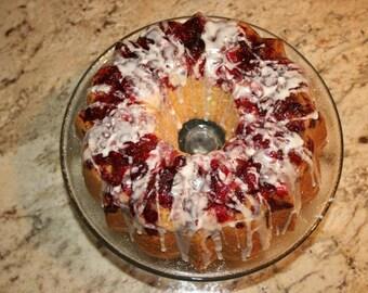 Cranberry-Lemon Cake