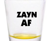 Zayn Malik Zayn AF Shot Glass Misprints