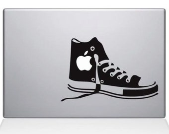 Converse shoe decal for macbooks
