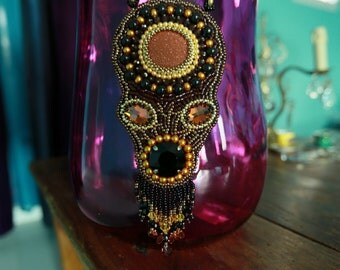 A tribal pendant