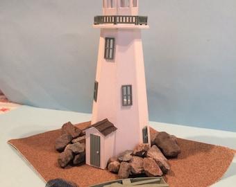 1/48th Lighthouse Kit Dolls House 1/4 quarter scale