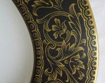 """Sango China Richelieu #3756 Fine China  12"""" Oval Platter-MINT CONDITION Sango Replacement China"""