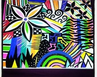 Colorful Doodles (11x14)
