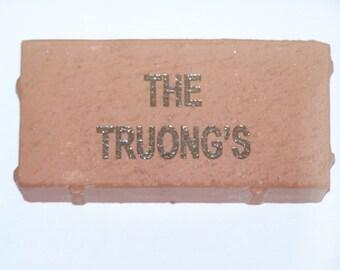 Engraved Brick / Paver Memorial