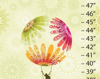 Hot Air Balloon Canvas Growth Chart