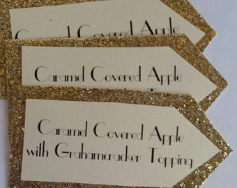 50 Party Favor Tags, wedding favor tags, event favor tags