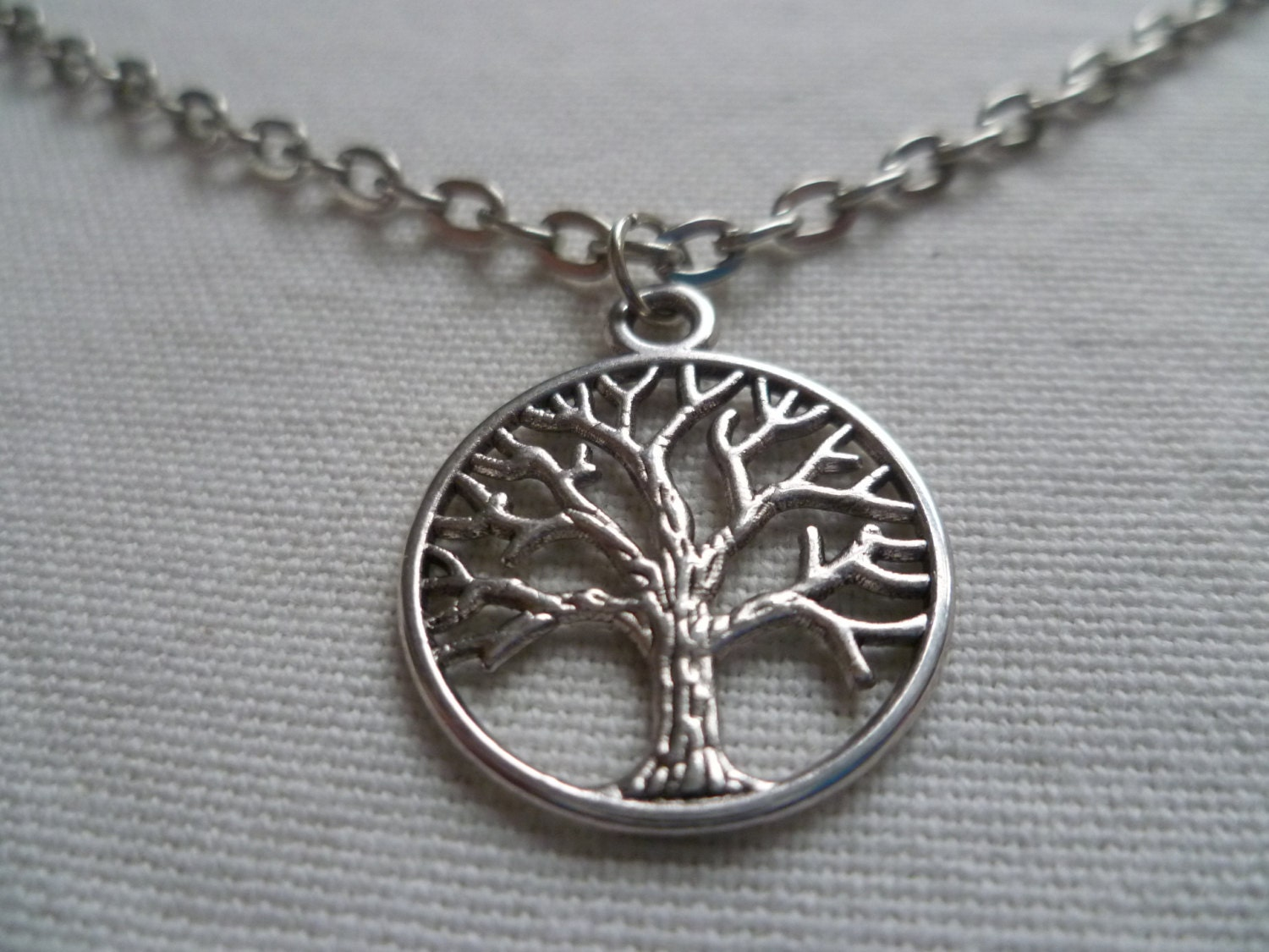 Tree of life necklacesilver tree of life necklacegifttree for What is the meaning of the tree of life jewelry