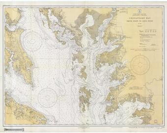 Chesapeake Bay Map 1934