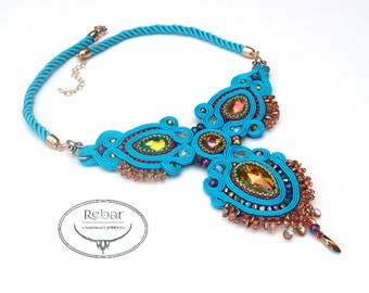 Necklace Soutache  Ofelia