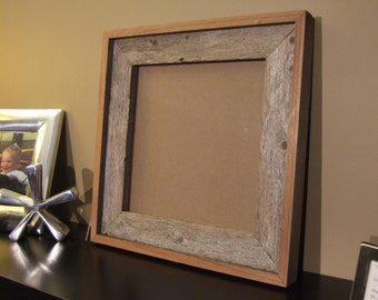 10x10 Reclaimed Wood Picture Fame
