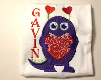 Valentine Monster T-Shirt