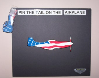 pin the tail on airplane