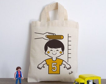 Dark child (bag cotton boy)