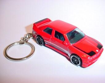 New 3D Red BMW M3 Custom Keychain keyring key chain by Brian Thornton