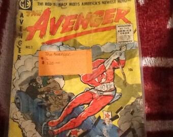The Avenger #1 Comic Book by Magazine Enterprise- Vintage