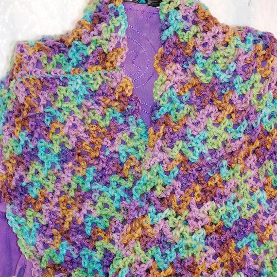 Items similar to Red Heart With Love Crochet Infinity ...