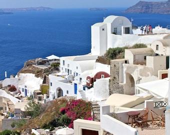 Whitewashed Santorini | Greece Photography