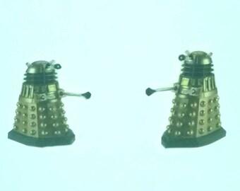 Dalek Doctor Who earrings