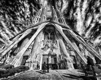 Gaudi's Basilica, Barcelona, Spain