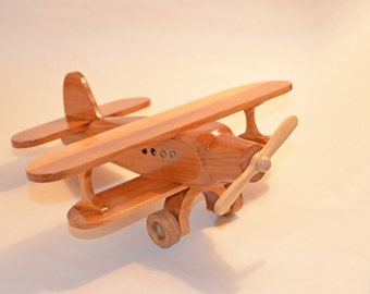 Wooden Toy Airplane AN-2