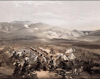24x36 Poster; Cavalry At The Battle Of Balaclava Balaklava Crimean War
