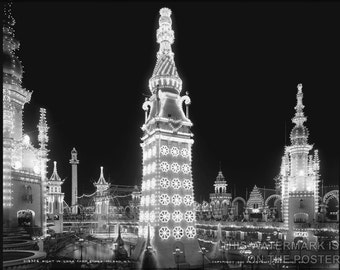 24x36 Poster; Luna Park, Coney Island, N.Y. Picture Taken Ca. 1905