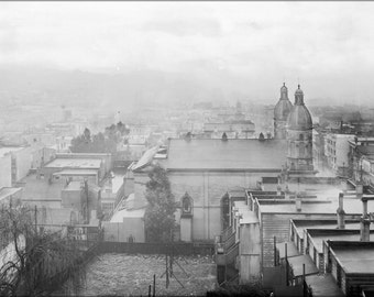 24x36 Poster; General View Of San Francisco In The Evening From Russian Hill, Ca.1905 (Chs-4024) #031715