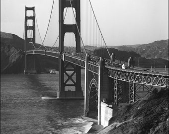 24x36 Poster; Golden Gate Bridge, Haer Ca-31-4 #031715