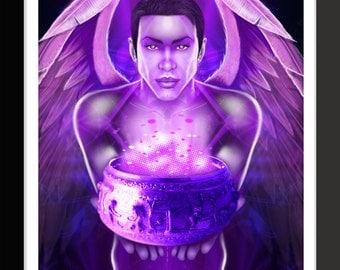 Archangel Zadkiel by Jason Mccreadie 2014.