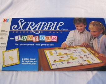 Scrabble for Juniors-Complete-1989 Board Game