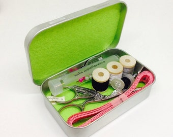 Essential mini sewing kit - a perfect holiday gift!