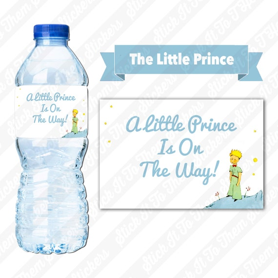 The little prince baby shower theme water by for A new little prince baby shower decoration kit