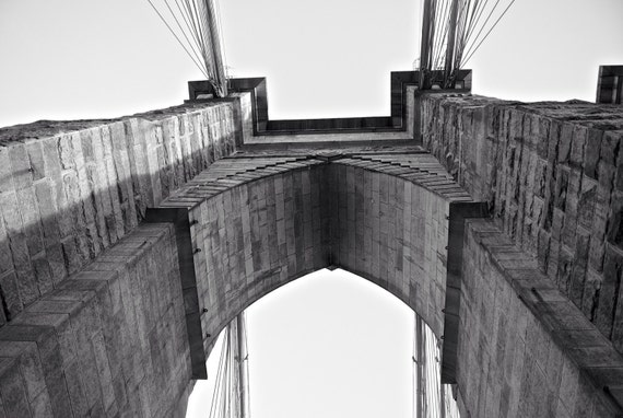 Brooklyn Bridge Black and White Photography New York by ...