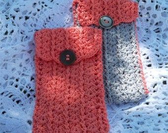 Case for glasses/Pen holder / phone holder crochet