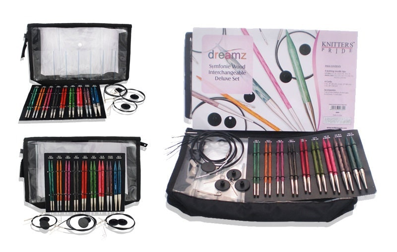 Knitting Needle Sets Canada : Knitter s pride dreamz symfonie deluxe interchangeable