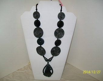 CLEARANCE ! ! ! Grey Ghost - Original necklace
