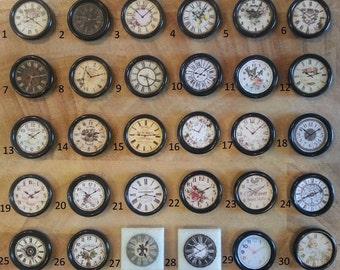 Miniature Clock Etsy