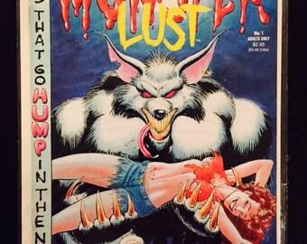1991 Eros Comix Monster Lust #1