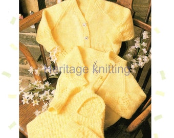 cardigans and sweater dk knitting pattern