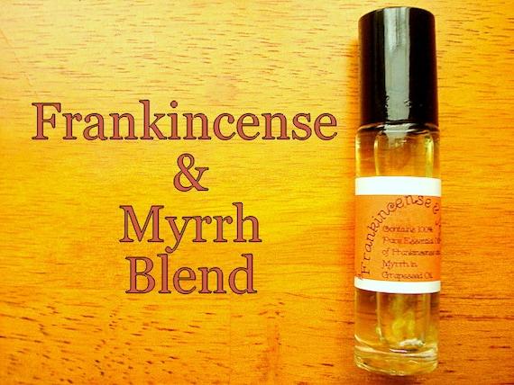 Frankincense and myrrh aromatherapy