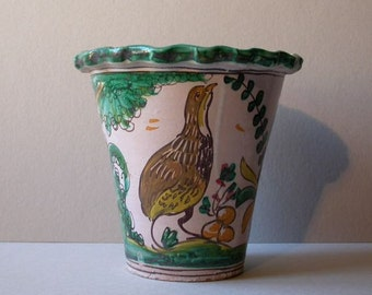 Pottery flowerpot, 1940s